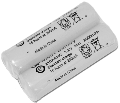 Rechargeable batteries for  Zekler 412 Bluetooth